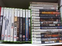 Job lot 27 xbox games