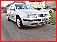 CHEAP - V W -- Volkswagen Golf 1.6 -- 5 Door -- Good Condition -- Part Exchange OK -- V W Golf 1.6