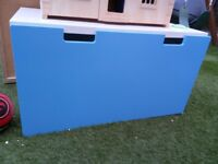 IKEA Children's Blue Wardrobe and Pull Out Toy Chest only £20