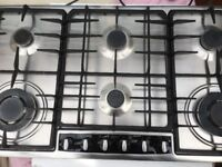 NEFF gas hob plus matching NEFF chimney hood in good & clean condition