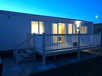 Luxury 8 berth Caravan rent let hire Ingoldmells Fantasy Island Skegness