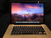 "Apple MacBook Pro 15"" Mid 2010 Intel Core i7 266 GHz storage 750GB"