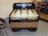 A Hohner Primatona 4 voice accordion, plays well BC Tuning quick sale £425