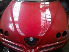 Breaking for spares ALFA ROMEO SPIDER CONVERTIBLE RED 1998