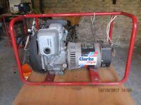 2kva Clarke framed Generator
