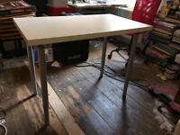 Free Ikea desk, not perfect but useable condition.