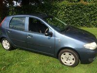 Fiat Punto 1.2 Active Petrol 12 Months MOT