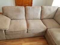 Corner sofa + 2 seater sofa