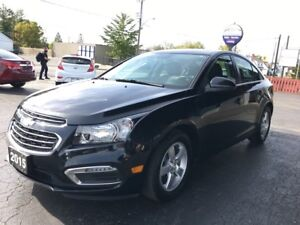 2015 Chevrolet Cruze 2LT Remotr Start/Leather and Power Roof!