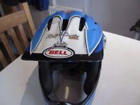 Bell full head helmet