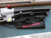 Garden leaf Blower, new eckman blower collect only have a lot at the photos thanks 25 pounds.