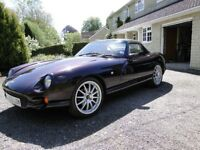 1996 TVR Chimaera 400 in Chianti Starmist with custom paintwork