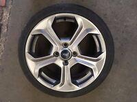 "Ford Fiesta ST 17"" Alloy Wheel"