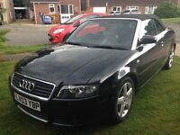 Audi A4 Convertible 1.8 Turbo - Excellent Condition
