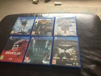 Loads new ps4 games for sale from £14 each upto £30 each some sealed see all pictures ask for prices