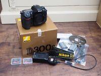 Nikon D300s DSLR (Body Only) + MB-D10 grip + 3 x EN-EL3 batteries