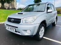JANUARY 2005 TOYOTA RAV4 XT3 D-4D 4X4 SERVICE HISTORY MOT TO JANUARY 2019 EXCELLENT CONDITION