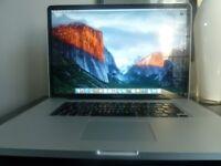"17"" Apple MacBook Pro Unibody Mac OSX El Capitan 10.11 - Fully Loaded"