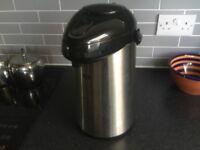 Elia Pump - Type Hot Water Dispenser. 2.5L. Vaccum flask