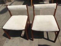 Pair of chairs - free local delivery