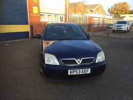 2003 Vauxhall vectra 2.0 dti 12 months mot/3 months parts and labour warranty