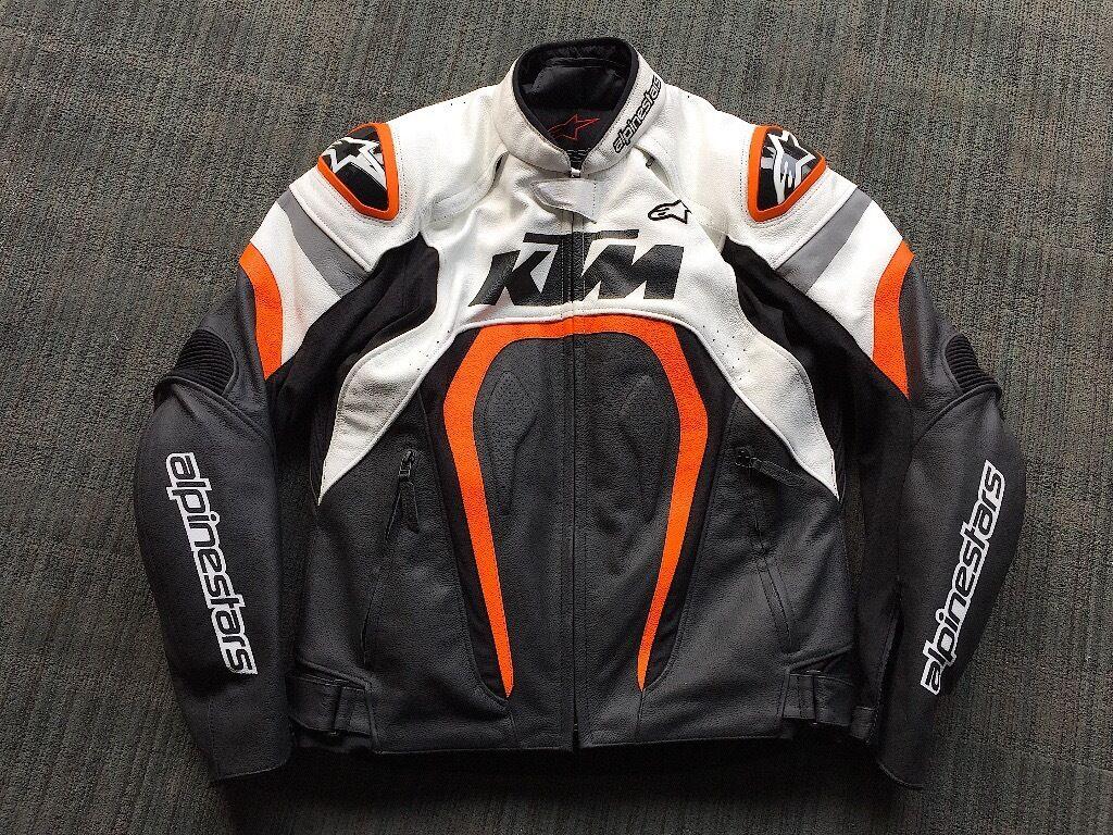 Alpinestars Jacket Leather >> Alpinestars KTM Motegi Sports Motorcycle Leather Jacket RC8 Superduke 1290 | in Birchgrove ...