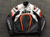 Alpinestars KTM Motegi Sports Motorcycle Leather Jacket RC8 Superduke 1290