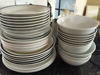 Assortment of bowls and plates