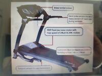 Power Trek Olympian Treadmill with electronic hill climb and programs