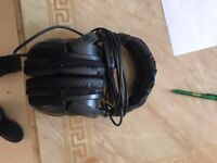 ProSound DJ headphones with adapter