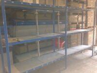 QBS industrial long span shelving ( pallet racking , storage )
