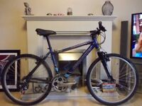 Claudbutler adult hard-tail mountain bike,serviced and in stunning as new condition- xmas present?