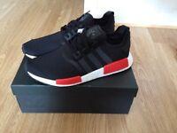 Adidas NMD R1 Black/Red UK9