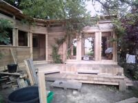 Cabin design and build call for a quote.