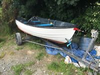 14ft bonwitco/with unsinkable fishing boat..good condition..£490ono Downpatrick