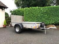 Ifor Williams P6e Trailer 6ft 6' x 4ft *NO VAT* Full Length Ramp and Spare Wheel - 750kg Capacity