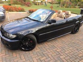 BMW 320 ci M sport convertible