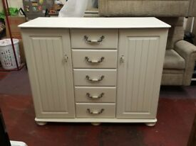 bensons for beds fairmont 2 door + 5 drawer chest in antique soft cream (cost £799 retail recently)