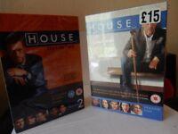 HOUSE DVD BOX SETS seasons 1 and 2