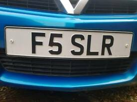 Private Plate F5 SLR