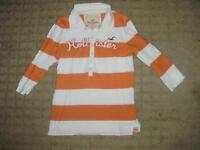Girl's/Teen Striped Rugby-style top, Hollister, size M