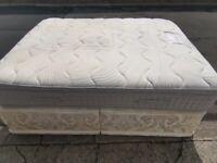 Luxury 1ft depth king size mattress