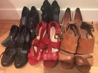 Job lot women's shoes size 5-6 (11x pairs)