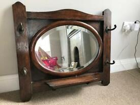 SOLD Antique Mirror