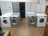 Beko Large Capacity 7kg + 8kg Washers For Sale PAT TESTED GUARANTEED REPUTABLE STORE