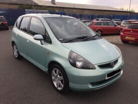 2003 HONDA JAZZ 1.4 PETROL IN MINT GREEN BREAKING FOR PARTS