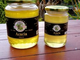 Raw Acacia and Linden Honey. Product of Bulgaria. Probably the best tasting honey in Europe