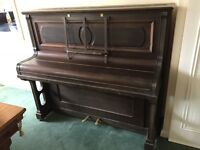 Daneman of London Upright piano and stool