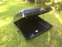 Roof Box Auto-Plas 350 Litre Black with Fittings