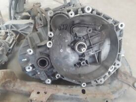 Vauxhall M32 1.9CDTI 6 speed manual gearbox supplied with used dual mass flywheel